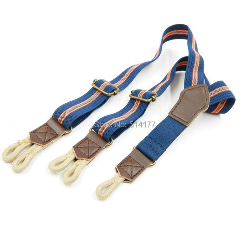 2019 New Button Suspenders Baby Leather Braces Buttons Tirantes Kids Suspensorio Children Bretelles Hommes Jartiyer Bretels