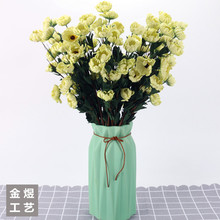 Manufacturer Direct Foreign Trade Artificial Flowers High-End European Vintage Camellia Flowers/Artificial Bo