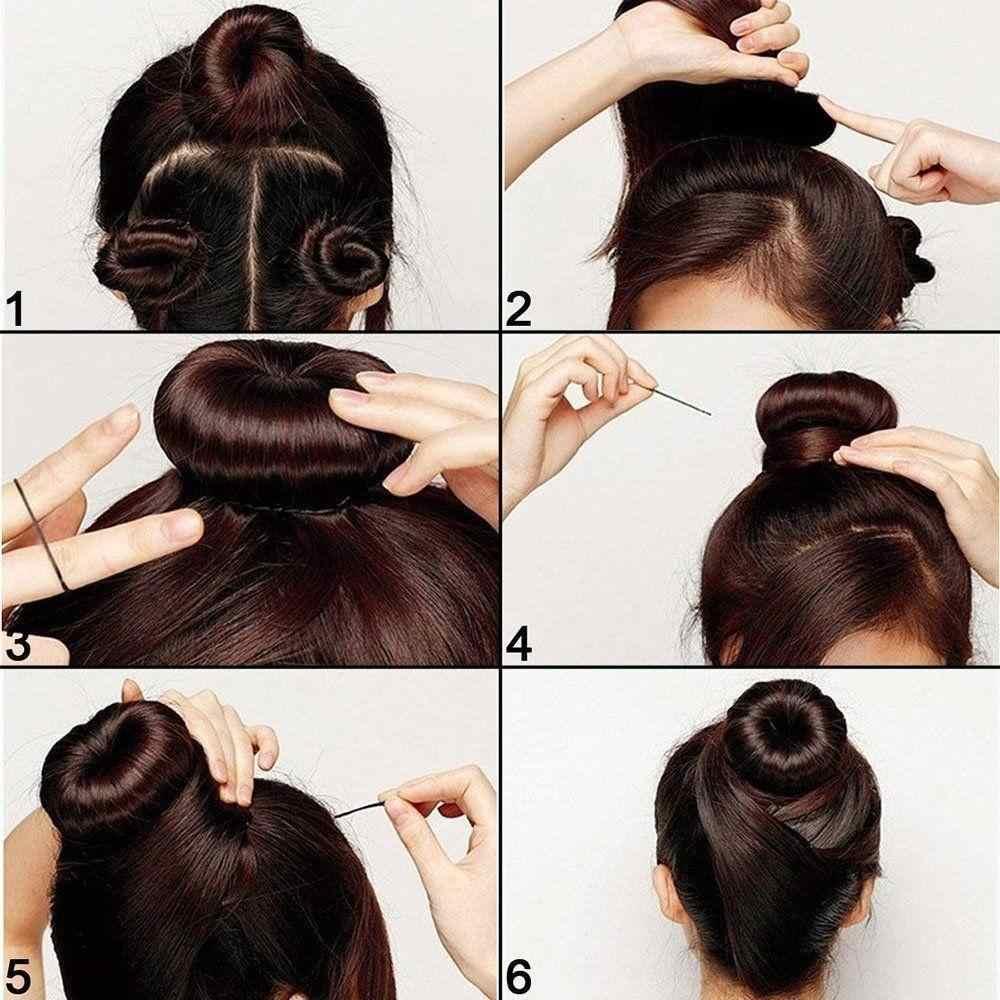 6 см/8 см/9 см губка для укладки волос разметочный инструмент булочка голова распределитель обруч Эластичные аксессуары для волос для женщин девочек