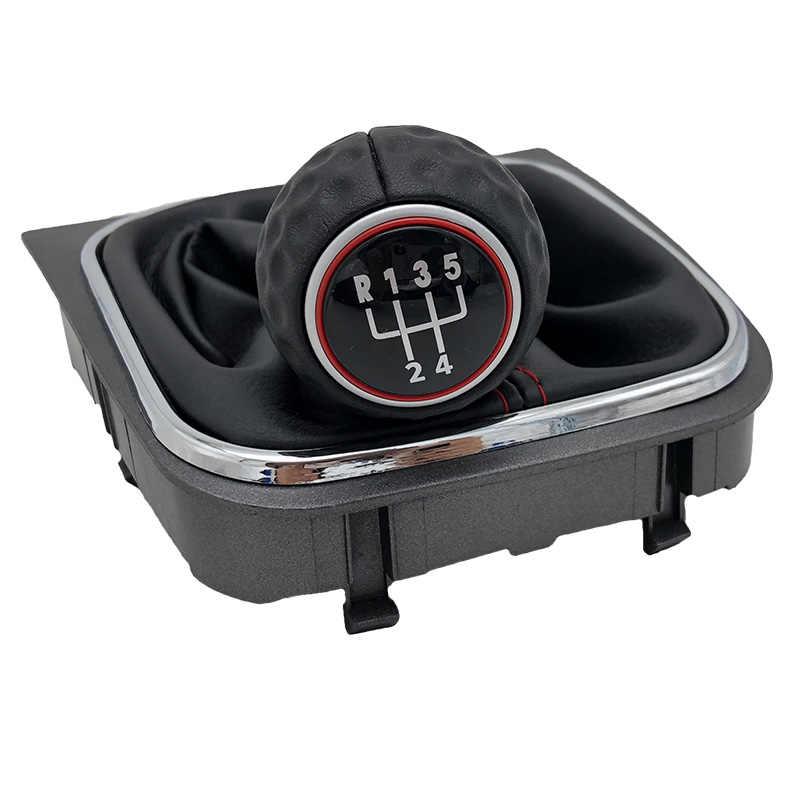 Gałka zmiany biegów Gaiter Boot Collar dźwignia pióro uchwyt obudowa do VW królik Golf 6 MK6 R20 Golf 5 A5 MK5 GTI GTD Jetta R32 2004-2014