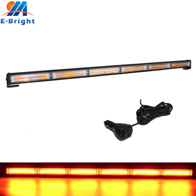 108W COB LED Flash DRL Daytime Running Light Lamp Bar Car Truck Driving Fog Strobe Emergency