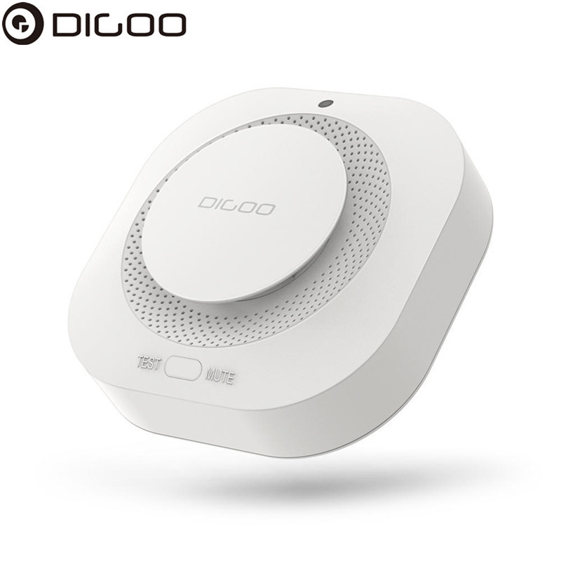 DIGOO DG-SA01 Smoke Sensor Detector Fire-Alarm Detector Independent Photoelectric Smart Home Remote Alert Work With HOSA HAMA