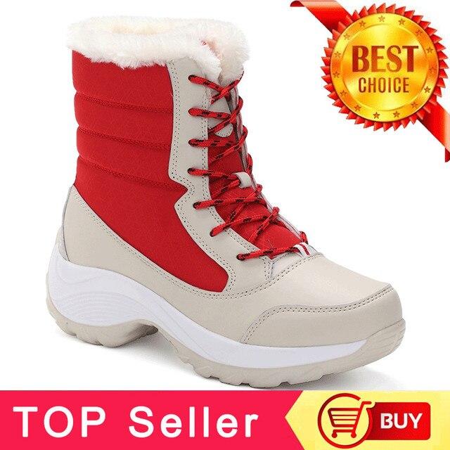 Размеры 35-42; ботинки на платформе; женская зимняя обувь; очень теплые зимние ботинки; женская обувь; Зимние ботильоны; женская обувь