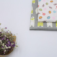 YLZZ Comfortable Soft Lovely Cartoon Pattern Cotton Fabric Baby Twill Fabric Child Bed Suitable for DIY(China)