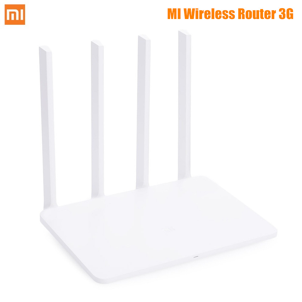 Original Xiaomi Mi Wireless Router 3G WiFi Repeater 128MB Band Flash ROM APP Control 1167Mbps 2.4G/5GHz Dual Band