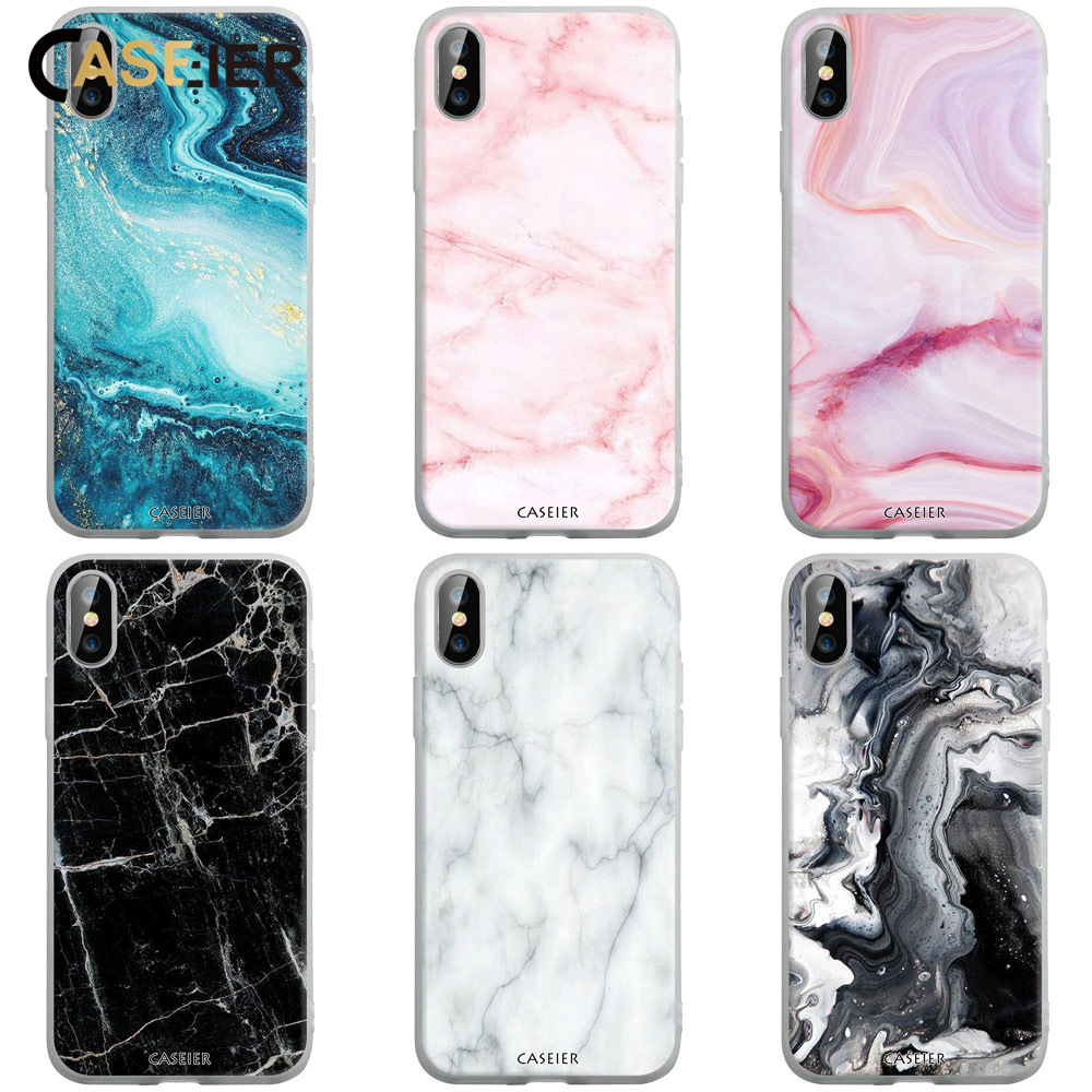 CASEIER <font><b>Case</b></font> For <font><b>Huawei</b></font> P20 <font><b>P10</b></font> P30 Pro Lite P Smart 2019 Soft <font><b>Marble</b></font> Matte <font><b>Case</b></font> For <font><b>Huawei</b></font> Y9 2019 Honor 10 9 8X Mate 10 20 Pro image
