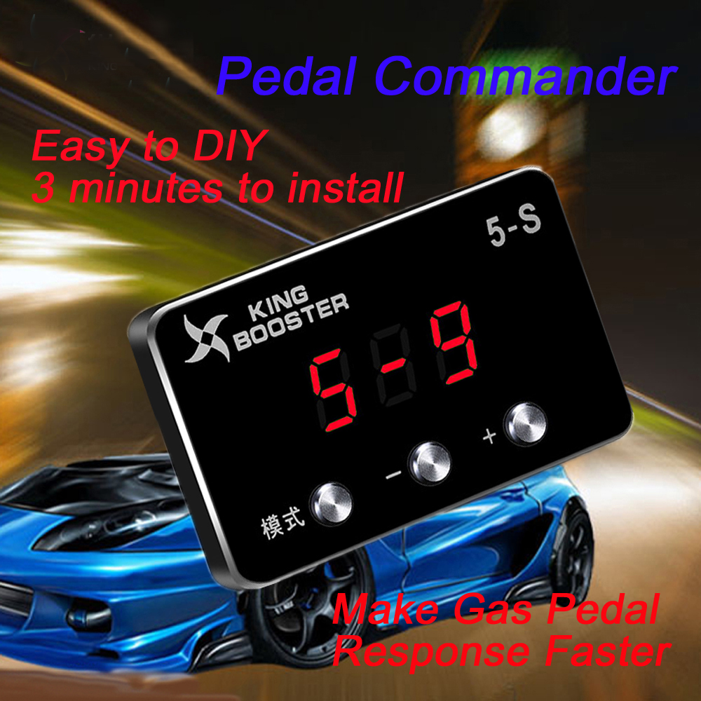 Car Pedalbox D1 Throttle Controller For BMW E39 E46 E53 E60 E61 E63 E84 E89 E87