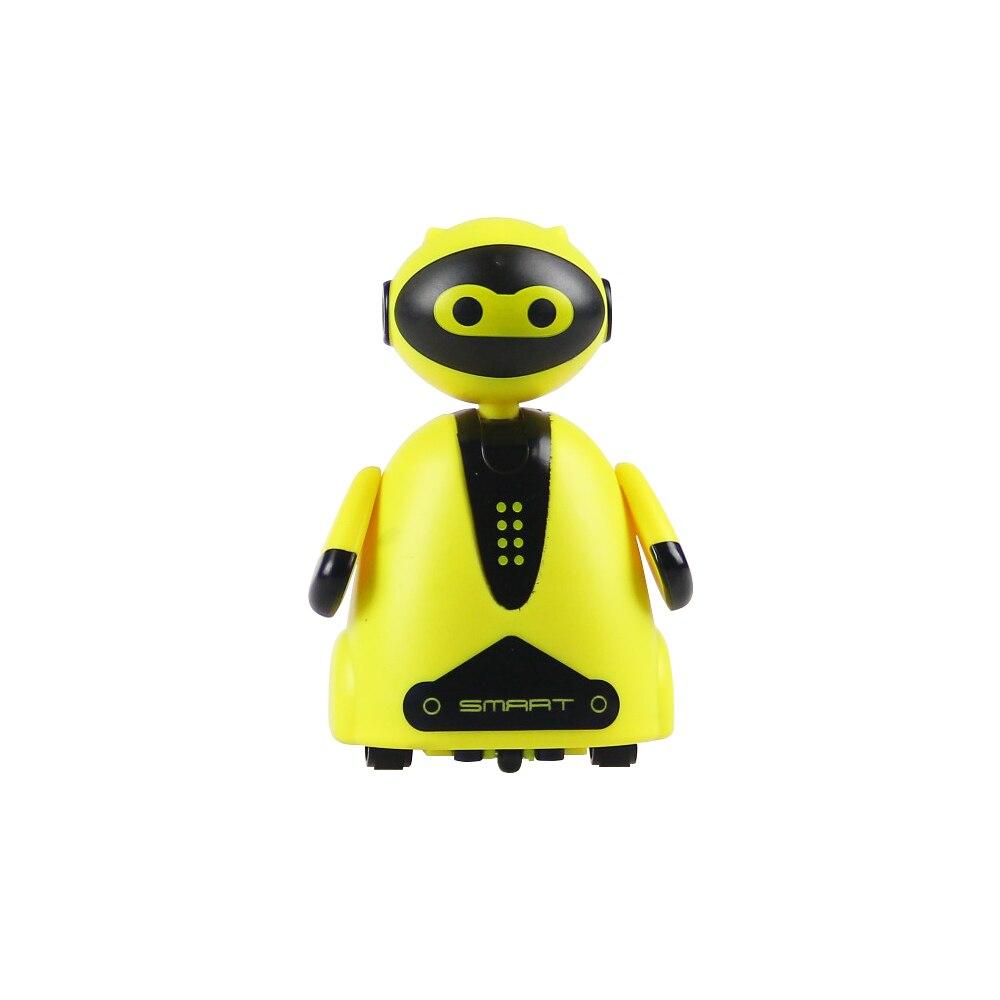 Fernbedienung Spielzeug Heiße Verkäufe Smart Rc Roboter 6,5*5*9 Cm Tracking Patrol Roboter Spielzeug Geschenk Für Kinder Geschenk Wir Nehmen Kunden Als Unsere GöTter Rc-roboter