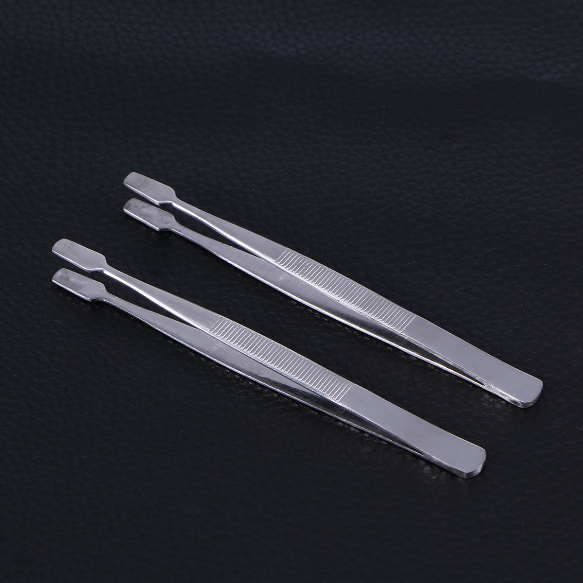 2 Pcs Silver Stamp Tweezers For Jewelry/Coin/Stamp Collection Handling Tools Collectibles Industrial Tweezers Hand Tools