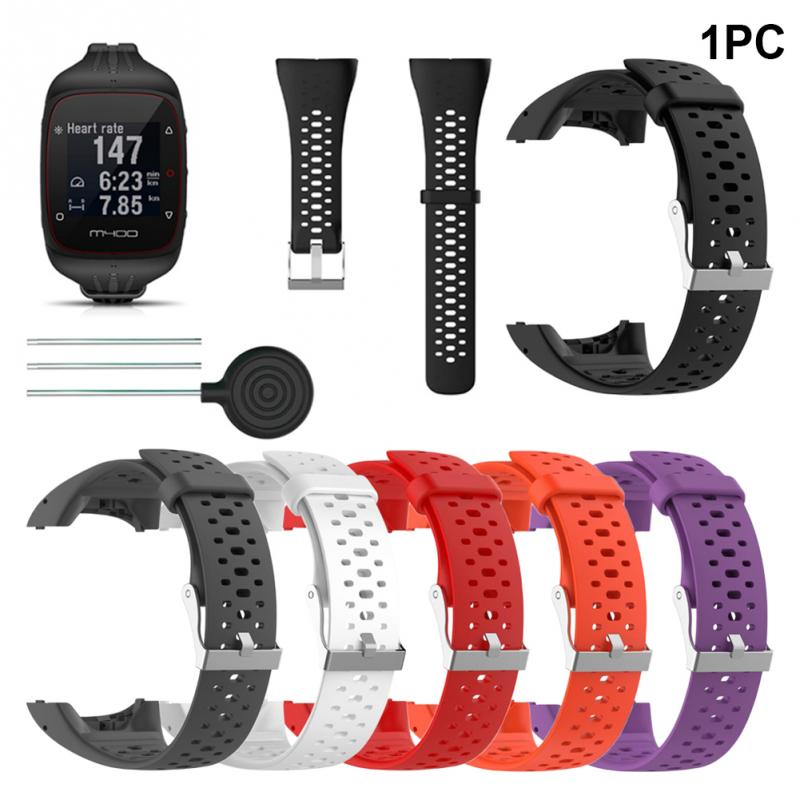 GPS Smart Wrist Sports Watch Band Bracelet Strap With Tools For Polar M400 M430 Watch Replacement