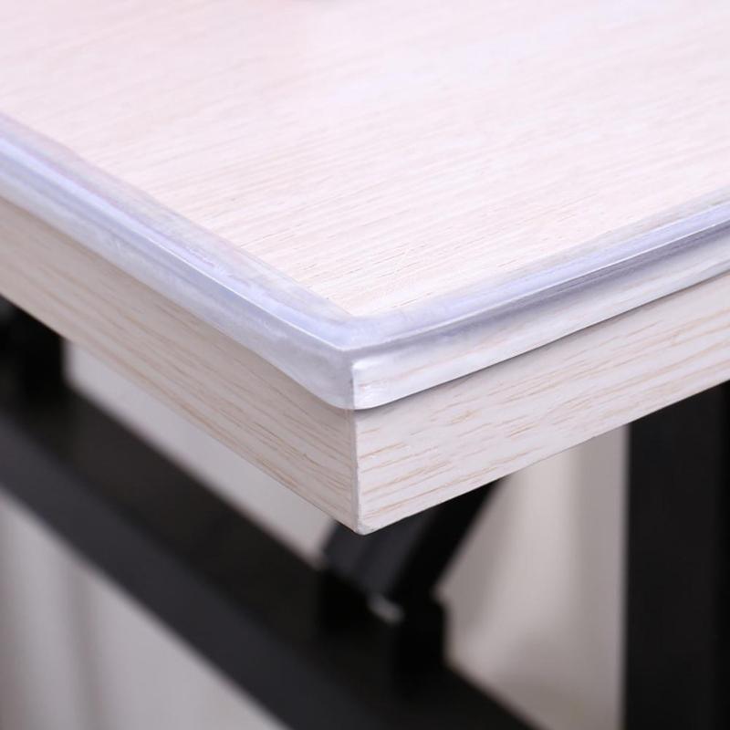 1 M Schreibtisch Rand Ecke Schutz Transparente Tisch Streifen Baby Kollision Beweis Rand Guards Baby Sicherheit Weichen Weichmacher Stoßstange Neue Heißer