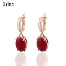 Irina Винтажные Ювелирные изделия из розового золота серьги