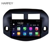 Harfey 2Din мультимедийный плеер Android 7,1 10,1 дюймов GPS автомобильный радиоприёмник для Toyota RAV4 2007 2008 2009 2010 2011 Авто Радио Стерео Wi Fi