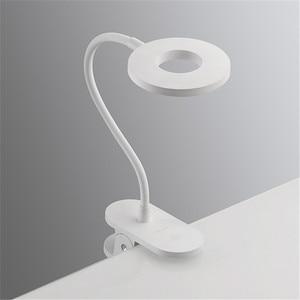 Image 5 - الأصلي Yeelight 5 واط LED USB قابلة للشحن كليب مكتب الجدول مصباح حماية العين اللمس باهتة 3 طرق القراءة مصباح لغرفة النوم