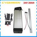 Перезаряжаемый 500 Вт 24В 20ач комплект литий-ионных батарей 24В 20ач батарея 24В 7с 18650 аккумулятор 30А BMS с зарядным устройством 29 4 в 3А