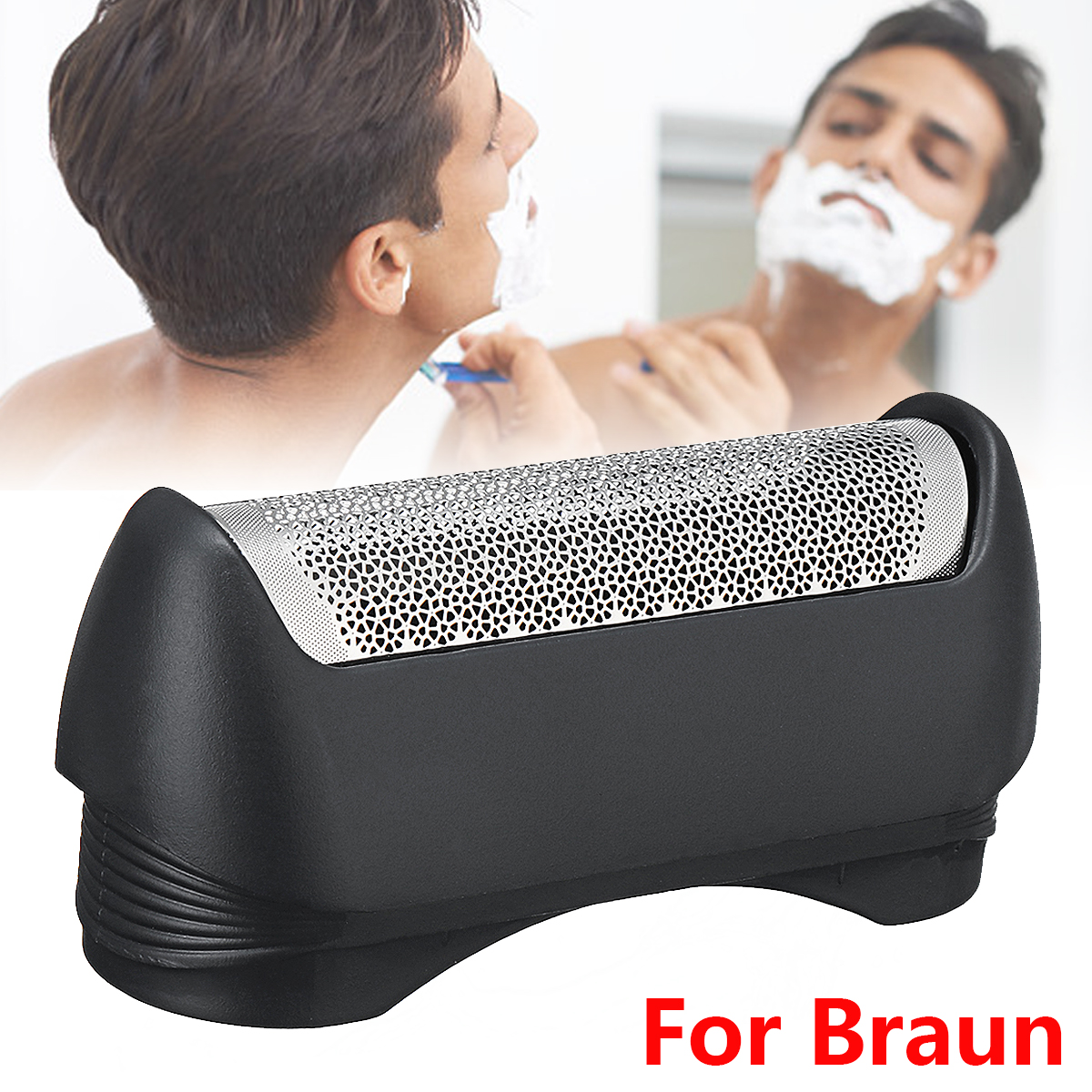 Shaver Replacement Foil For Braun 11B Series 110 120 130 140 150 5682 5684 11B-1000 Personal Care Shaver Accessories Foil NEW