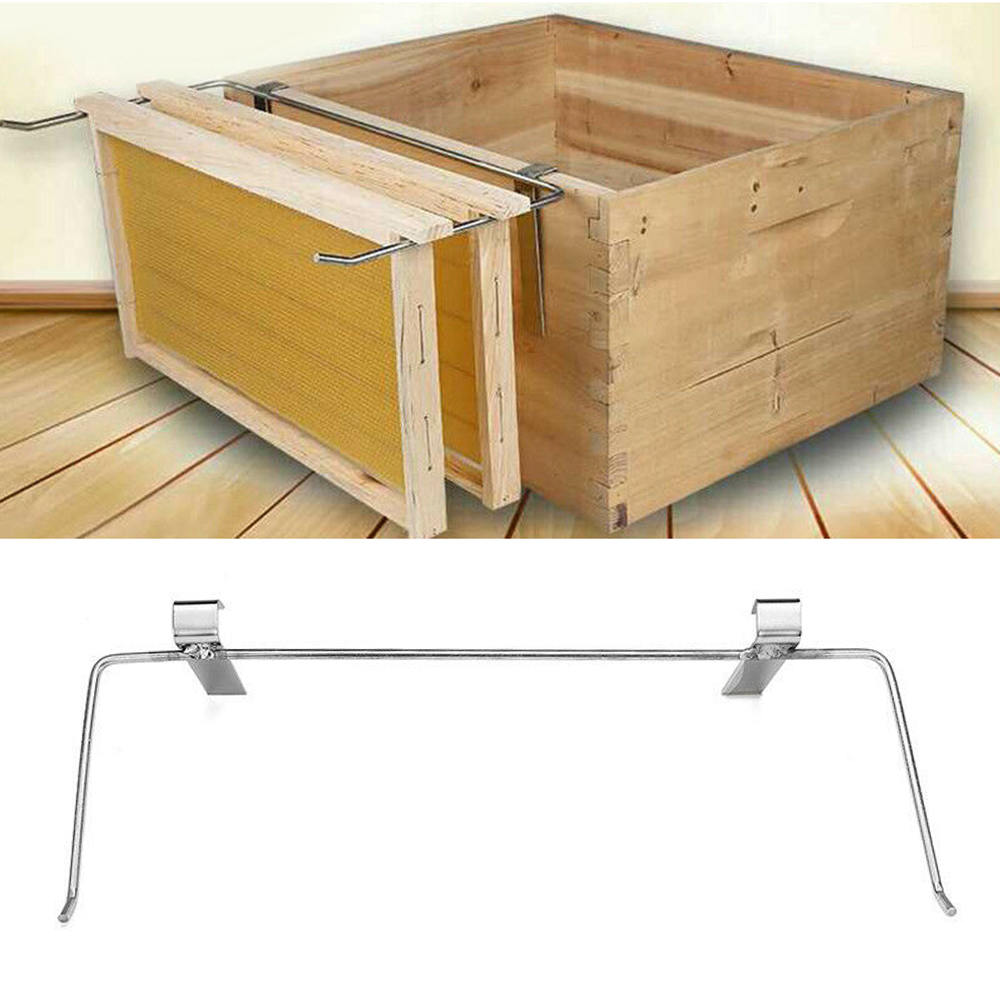 Silver Bee Hive Frame Holder 47CM Perch Side Beekeeping  Accessory  Protect Bee Sting Capture Beekeeping Equipment Tool