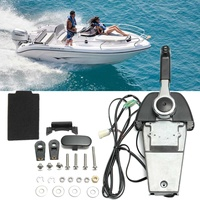 Boat Outboard Remote Control Box 704 For Electric Start Yamaha Outboards Premium Single Binnacle Control Streamlined Appearance