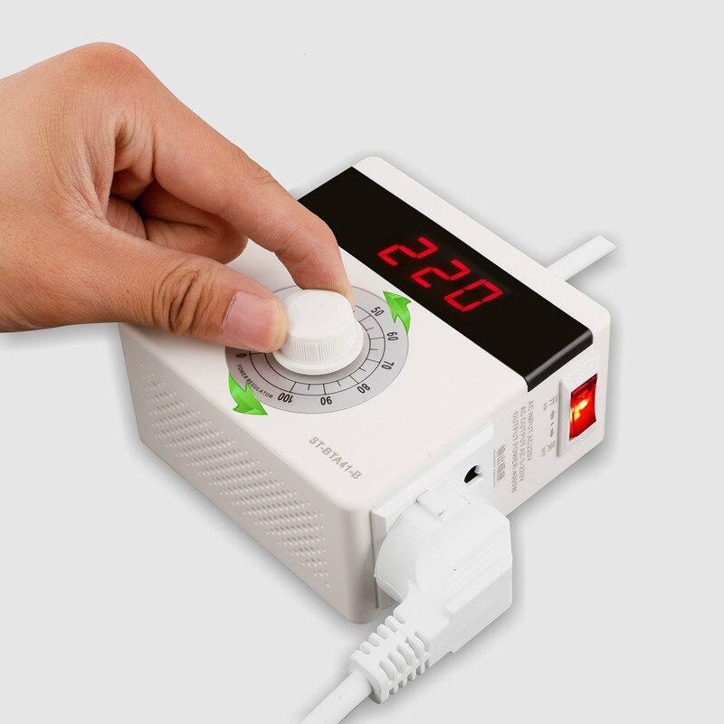 frete gratis 4000w transformador regulador de tensao conversor de potencia limitador de eletricidade e prevencao da