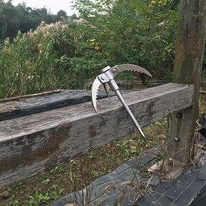 Image 4 - Escalada ao ar livre de acampamento caminhadas pesca sobrevivência dobrável garra gancho combate militar mosquetão ferramenta equipamento parede