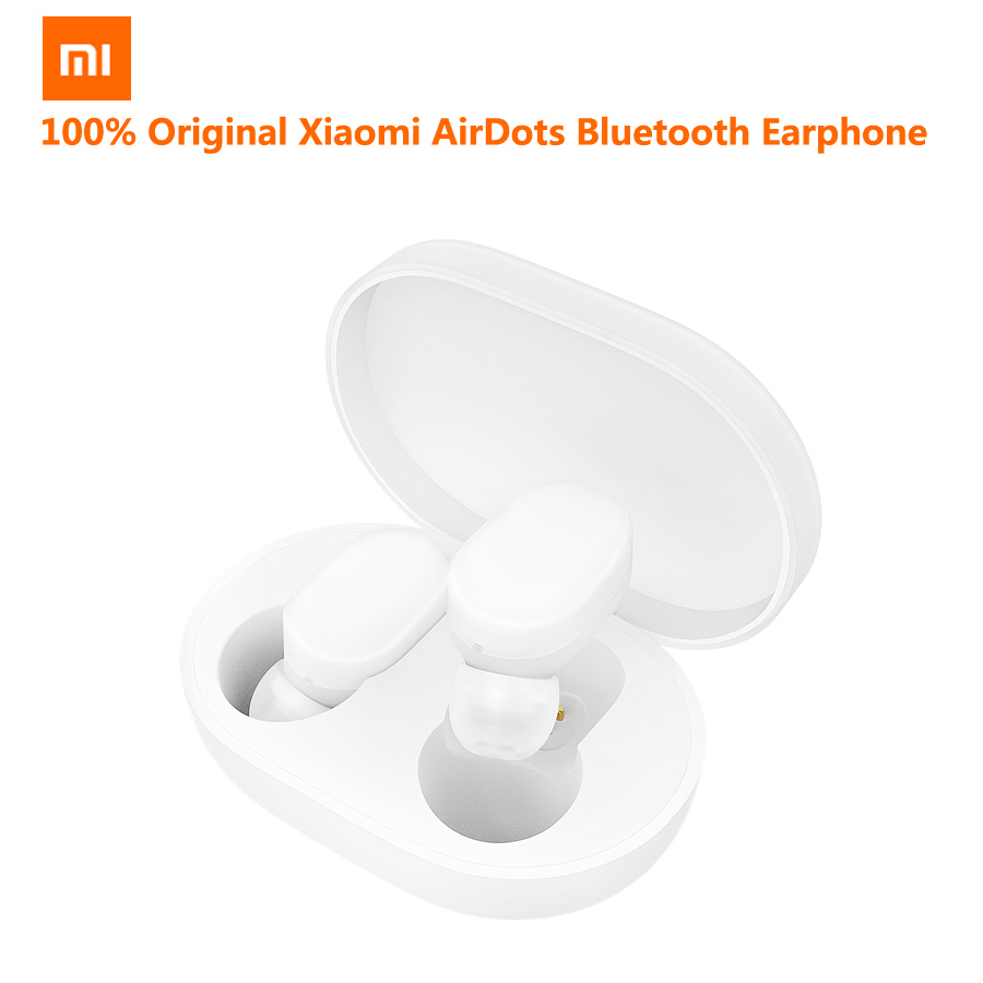 Xiaomi AirDots Bluetooth Earphone Youth Version Stereo MI Mini Wireless Headphones Bluetooth 5 0 Handsfree Headset