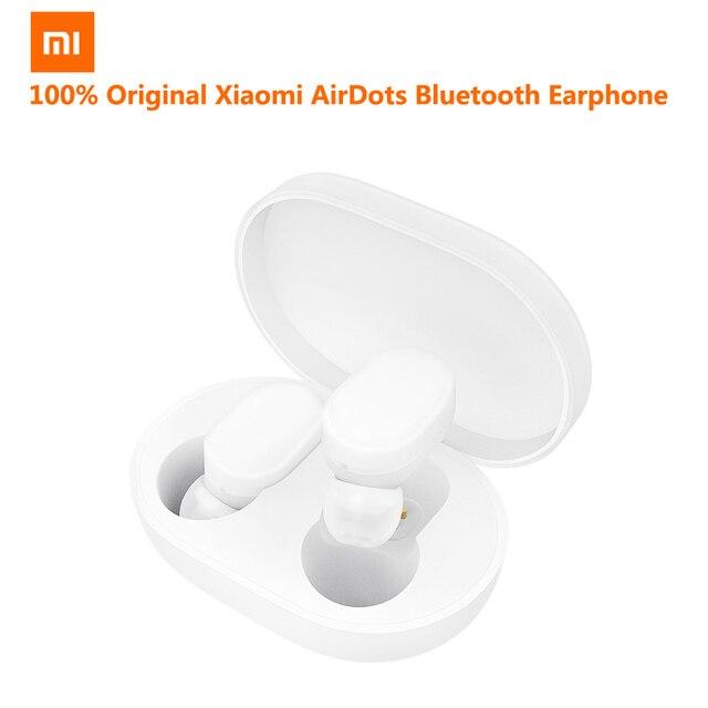 Xiaomi AirDots Bluetooth Earphone Youth Version Stereo MI Mini Wireless Headphones Bluetooth 5.0 Handsfree Headset Mic Earbuds