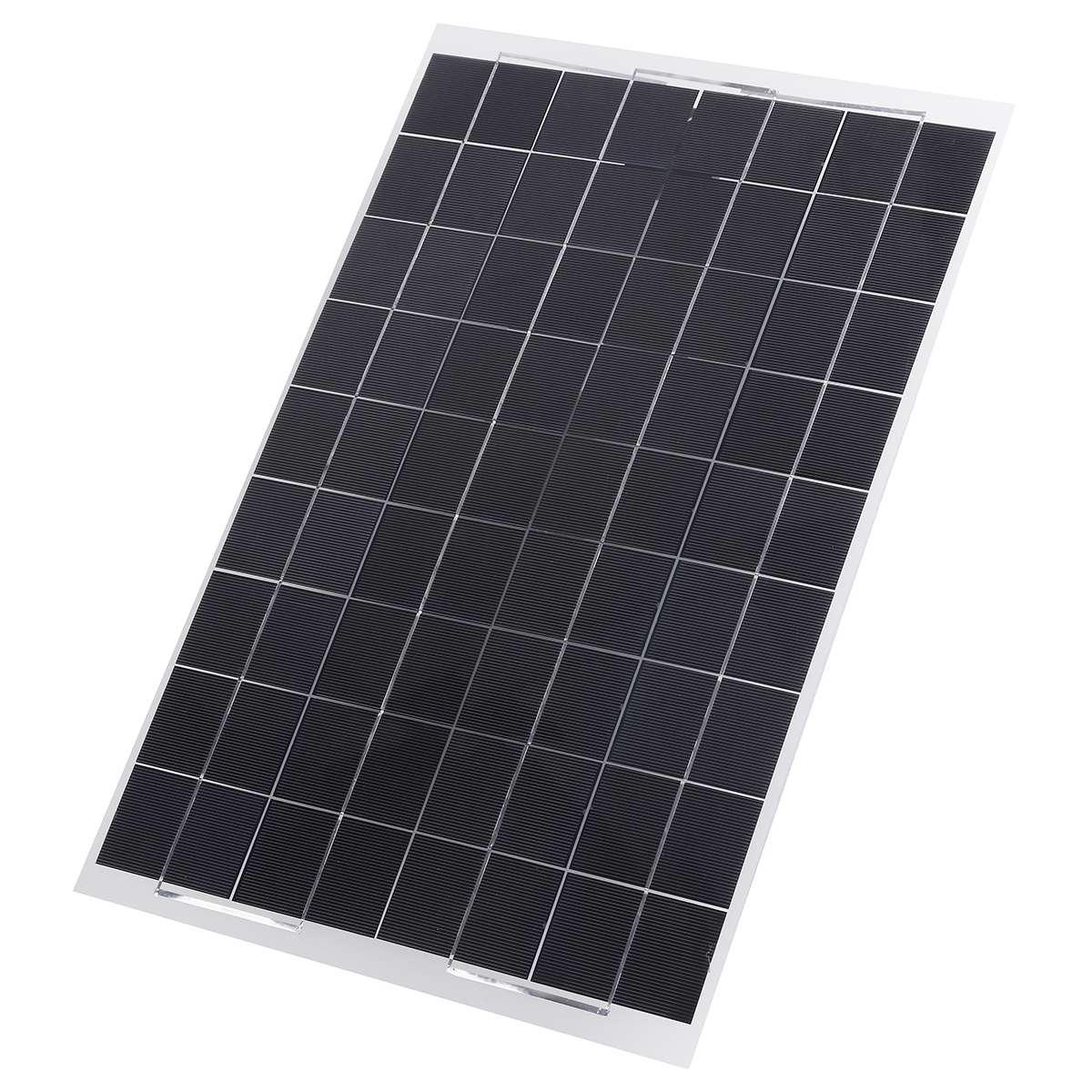 Panneau solaire Flexible plaque 12 V/5 V 10 W 20 W 30 W chargeur solaire pour batterie de voiture 12 V 5 V téléphone batterie Sunpower cellules monocristallines