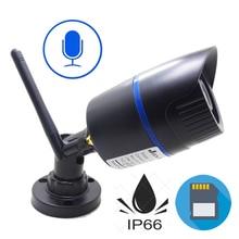 IP 카메라 와이파이 720 P 960 P 1080 P HD 무선 Cctv 보안 실내 실외 방수 오디오 IPCam 적외선 감시 카메라
