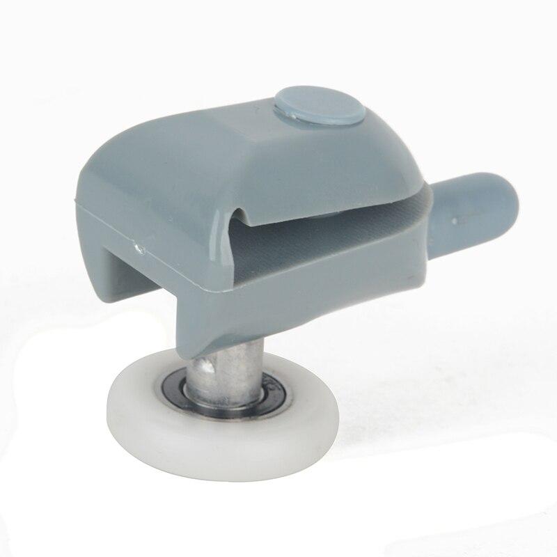Single 25mm Shower Door Roller Runners Shower Glass Door Sliding Shower Door Wheels Replacement Pulley Roller Wheel Home Tools