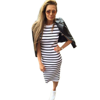 2018 Summer Fashion Dress Summer Women Maxi Long Slim Dresses Casual Loose Cotton Sundress for Female