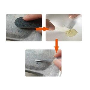 Image 4 - VISBELLA Cerchi In Lega Adesivo di Riparazione Kit di 5 Minuti di Uso Generale Argento Vernice Fix Tool per Bordo di Auto di Dent Scratch Cura accessorio