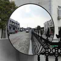 180 Degrees Traffic Safety Outdoor Indoor Mirror Angle Convex Wide-angle Security Wall Dome Replacement Parts 30/45/60cm
