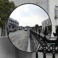 180 degrés de sécurité du trafic extérieur intérieur miroir Angle convexe grand angle de sécurité mur dôme pièces de rechange 30/45/60 cm