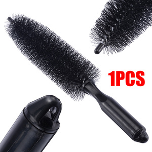 Image 2 - 1 PC Black Car Wheel Tire Rim Hub Scrub Brush Vehicle Home Kitchen Bathroom Practical Washing Cleaning Tool