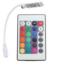 IG-24 кнопки мини ИК пульт дистанционного управления для RGB светодиодные ленты