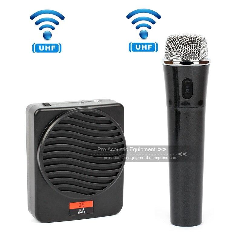 Tragbares Audio & Video Tragbare Wireless Megaphon Pa System Stimme Verstärker Hand Mic Booster Lehre Lautsprecher Handheld Mikrofon Reiseleiter Coach Up-To-Date-Styling Unterhaltungselektronik