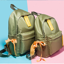 Купить с кэшбэком 2019 Fashion Women's High Quality Backpack Casual School bag For Girl Ladies Teenagers Casual Travel bags Schoolbag Bagpack Pink