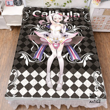 Japanese Anime Game Caligula Bed sheets  Bedding Coverlet cartoon bedsheets cosplay fan gift drop shipping wholesale bedsheet