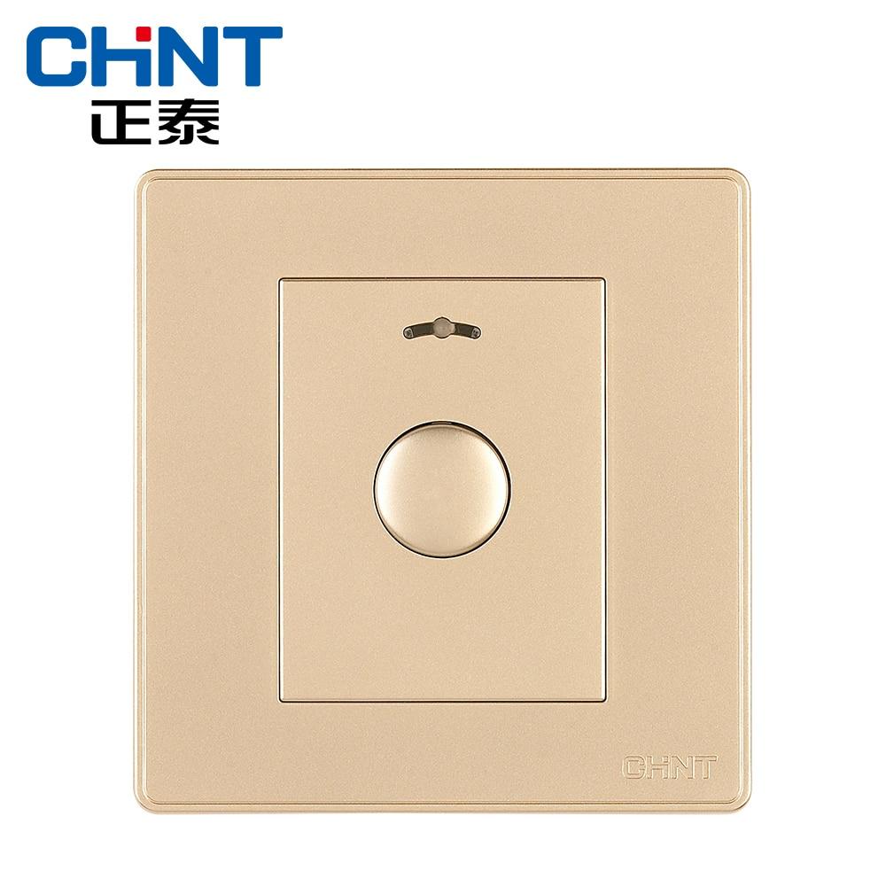 Interrupteur tactile chinois interrupteur mural prise NEW2D lumière Champagne or bouton interrupteur de retard - 2