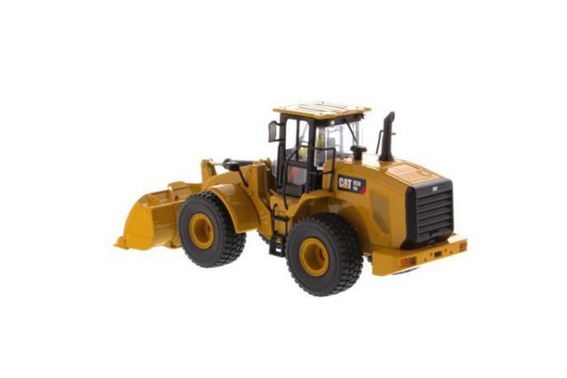 다이 캐스트 마스터 1/50 스케일 캐터필라 cat 950gc 휠 로더 다이 캐스트 모델 # 85907c