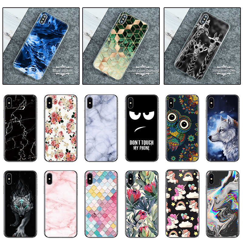 Hot Sale Phone Case For LG Stylo 4 X Power 3 V40 K11 K40 Cute Cartoon High Quality Art Painted Soft Case