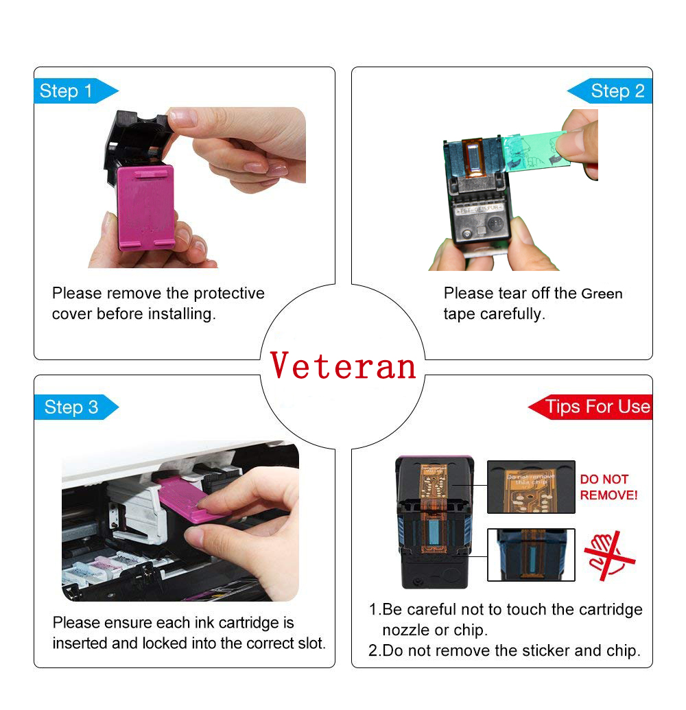 Image 5 - Veteran PG445 CL446 replacement for Canon ink cartridge PG 445 CL 446  for Pixma MG2540 MX494 MG2440 MG2940 MG2942 MX492 printer-in Ink Cartridges from Computer & Office