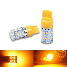 Lâmpada LED T20 7440 3030 35SMD Canbus CONDUZIU a Lâmpada Para O Carro Nos Pisca-piscas Âmbar Iluminação 12 v