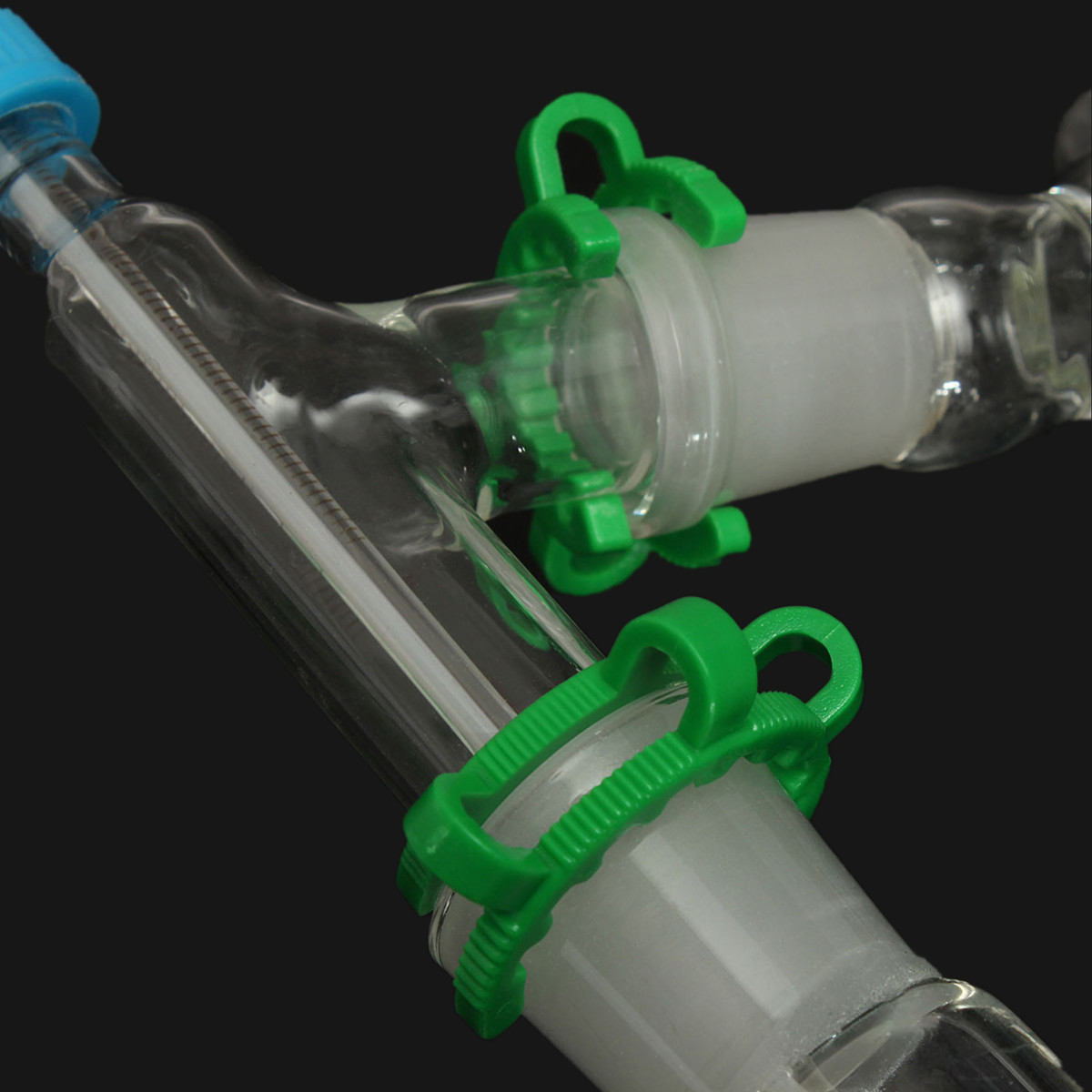 KICUTE 1000 ml appareil de Distillation laboratoire chimie verrerie Kit ensemble laboratoire de chimie verre Distillation appareil de Distillation 24/29 - 6