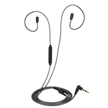 อัพเกรดขั้ว MMCX พร้อมไมโครโฟนสำหรับ Shure SE215 SE315 SE425 SE535 SE846 UE900 หูฟังหูฟังที่ถอดออกได้เปลี่ยนสาย