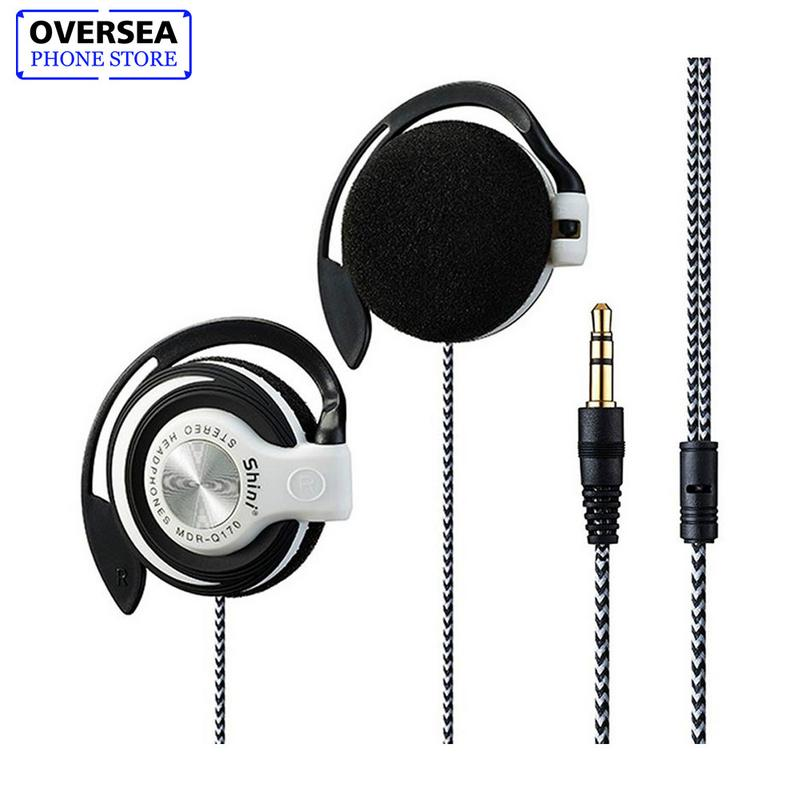 For Shini Mdr-q170 High Quality 3.5mm Mp3 Stereo Computer Mobile Phone Universal Subwoofer Headset Heavy Bass Headphone Earhook