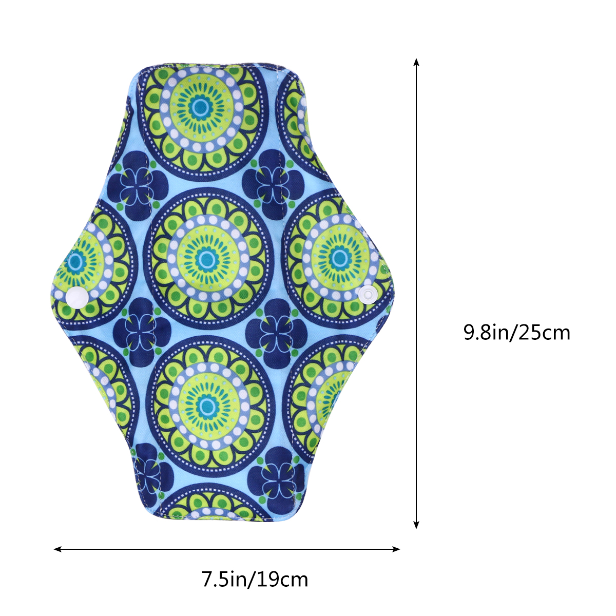 1 Pcs Menstrual Pad Reusable Breathable Portable Washable Polyester Menstrual Pad Sanitary Towel for Women Girls Ladies in Feminine Hygiene Product from Beauty Health