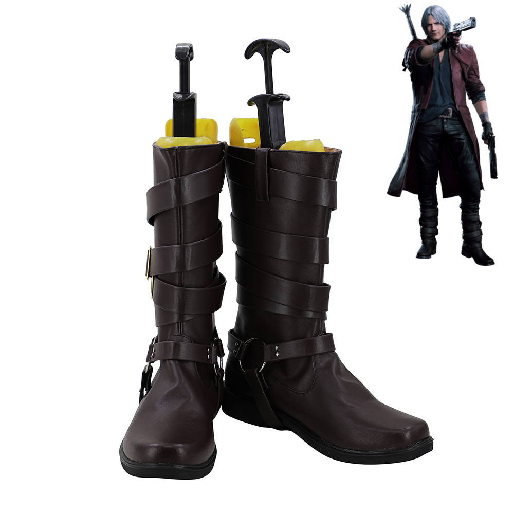 Devil May Cry 6 Dante Cosplay Shoes Men Boots