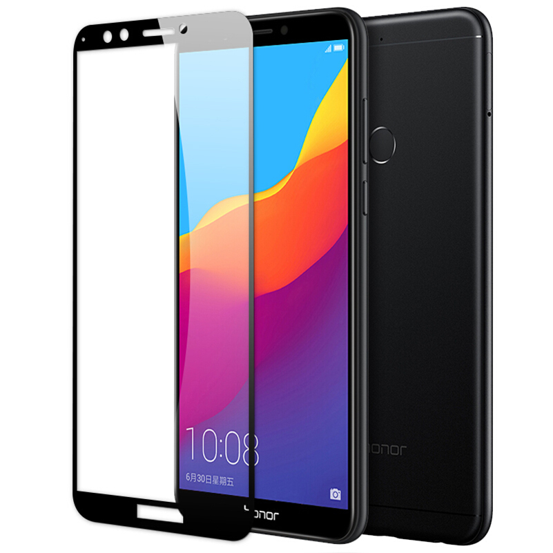 Glass On <font><b>Honor</b></font> 7A 7C Pro <font><b>7X</b></font> Screen Protective Tempered Glass For Huawei Honer 7a 7c <font><b>7x</b></font> Full Cover Display Protector <font><b>trempe</b></font> <font><b>verre</b></font> image