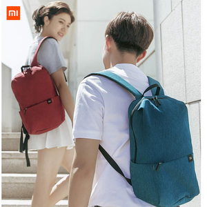 Image 2 - Xiaomi Colorful Small Backpack Big Capacity Waterproof Bag Couple Backpack Student Younth Man Commuter Backpack For Office Work2